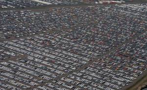 A lot of cars